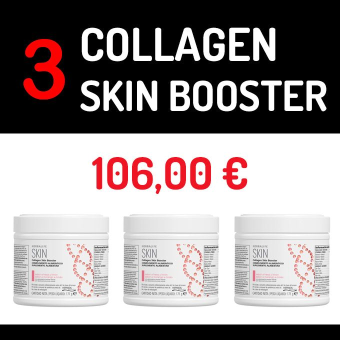 COLLAGEN SKIN BOOSTER - FRESA Y LIMÓN 171 G