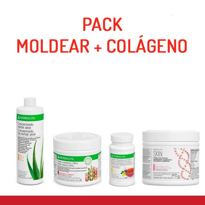 Pack Moldear + colágeno