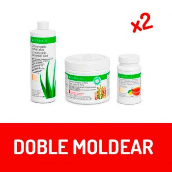 PACK DOBLE MOLDEAR - HERBALIFE