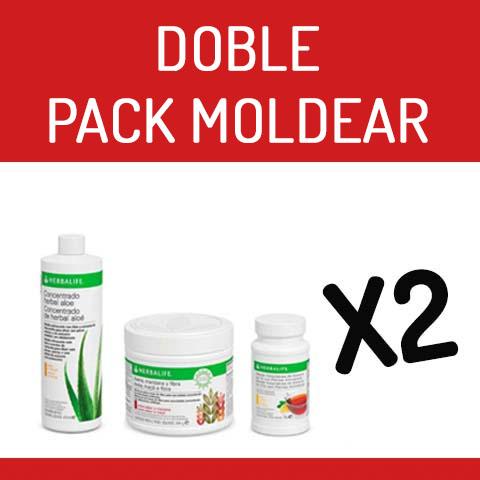 Pack Doble Moldear