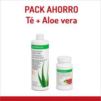 Pack Herbalife ahorro té y aloe vera